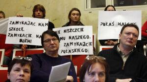 Protesty nie pomogły. Radni likwidują szkoły