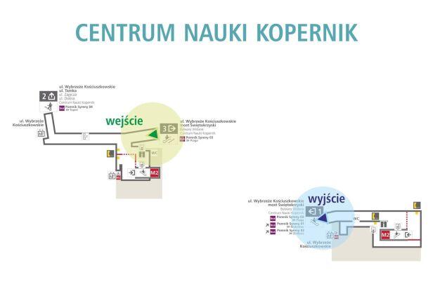 Schemat zwiedzania stacji UM