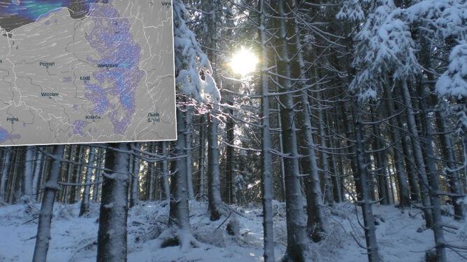 Prognoza pogody na pięć dni: przelotne opady śniegu, do 6 stopni