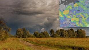 Pogoda na 5 dni: kontynuacja gorącej i gwałtownej aury