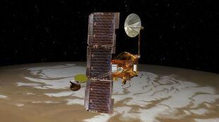 Ciekawość śladem życia na Marsie