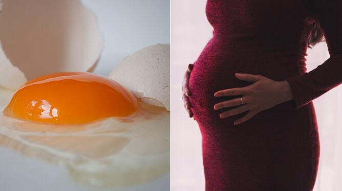 Jedzenie jajek podczas ciąży. <br />Kontorowersyjne stwierdzenia naukowców