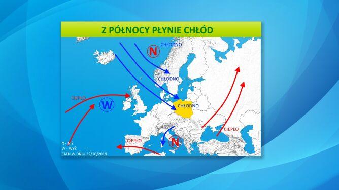 Ciśnienie atmosferyczne nad Europą