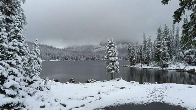 Śnieżna jesień w USA