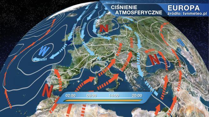 Pogodą w Polsce rządzi niż Esther