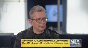 Podtopienia w powiecie limanowskim