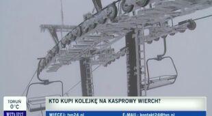 Górale chcą przejąć kolejkę na Kasprowy (TVN24)